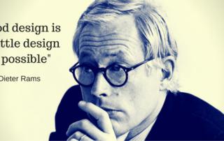 Dieter Rams design philosophy