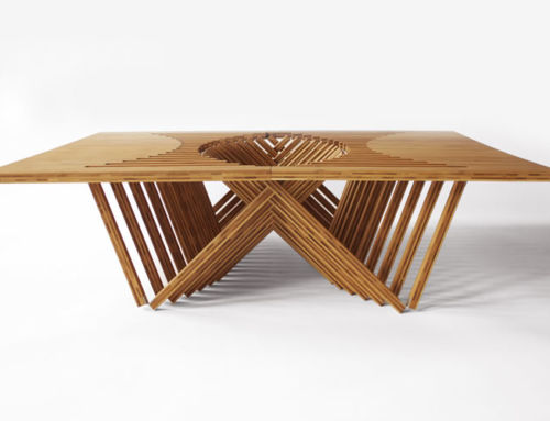 Inspirational and creative furniture made from folding woods