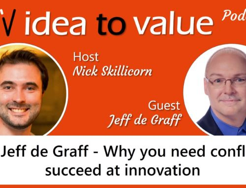 Podcast #21 Jeff de Graff – Why you need conflict to succeed at innovation