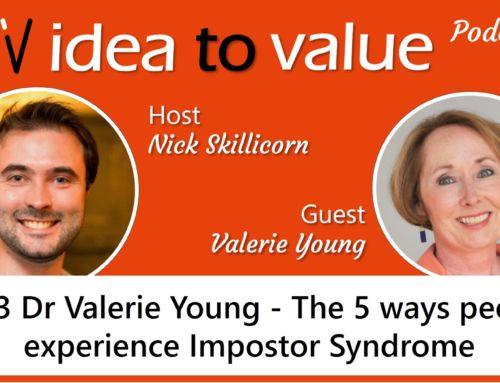 Podcast #023 Dr Valerie Young – The 5 ways people experience Impostor Syndrome