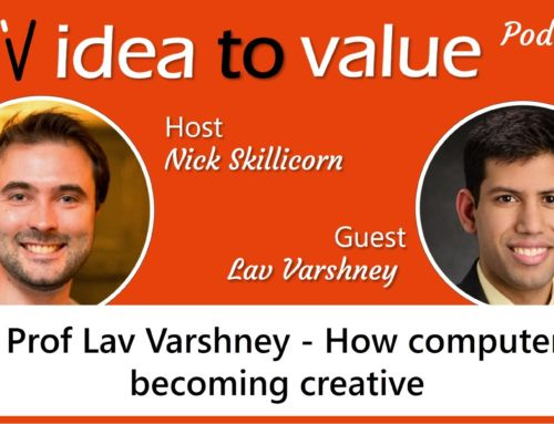 Podcast #024 Prof Lav Varshney – How computers are becoming creative