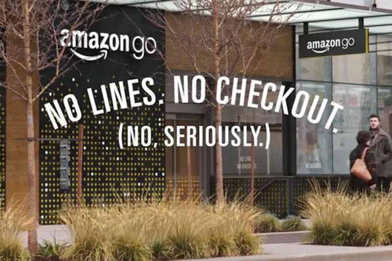 amazon go has no checkout and no cashiers