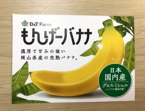 This new Japanese banana has a peel you can eat