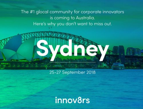 Sydney Innov8rs conference: Come and learn from me and 40+ live innovation speakers