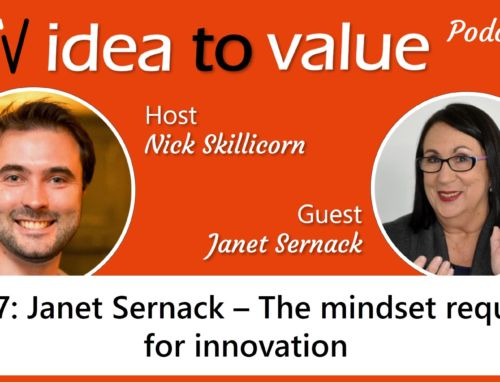 Podcast S2E27: Janet Sernack – The mindset required for innovation