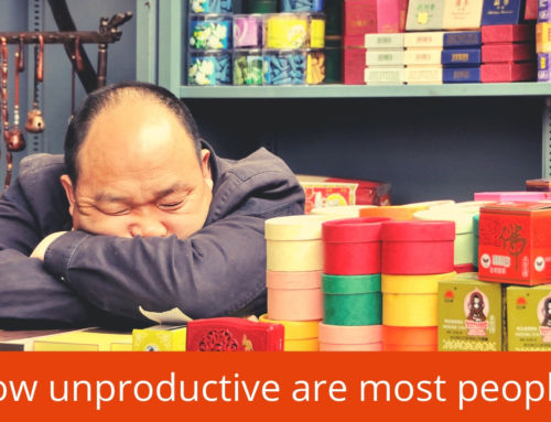 This is how unproductive most people are