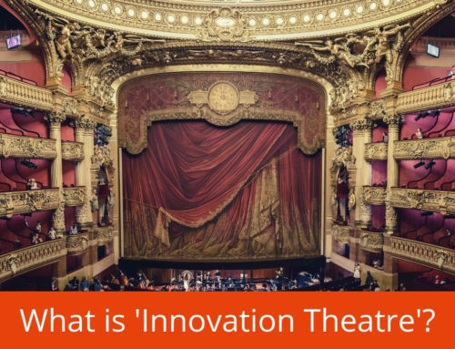 "Is your company just performing ""Innovation Theatre""?"