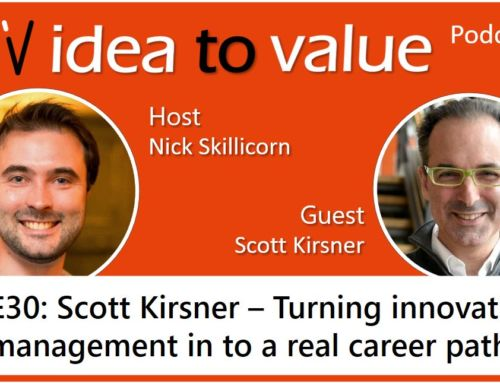 Podcast S2E30: Scott Kirsner – Turning innovation management in to a real career path