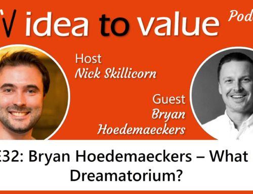 Podcast S2E32: Bryan Hoedemaeckers – What is a Dreamatorium?