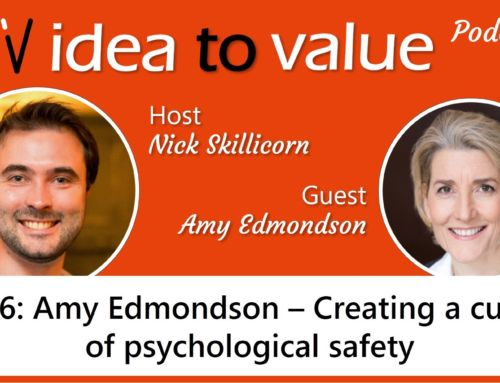 Podcast S2E36: Amy Edmondson – Creating a culture of psychological safety
