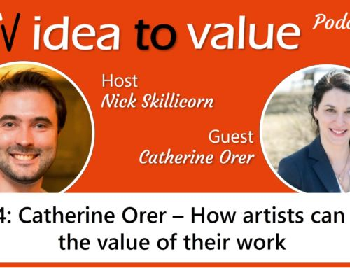 Podcast S2E34: Catherine Orer – How artists can raise the value of their work