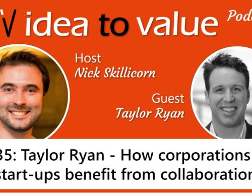 Podcast S2E35: Taylor Ryan – How corporations and start-ups benefit from collaboration