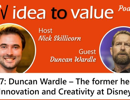 Podcast S2E37: Duncan Wardle – The former Head of Innovation and Creativity at Disney