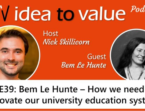 Podcast S2E39: Bem Le Hunte – How we need to innovate our university education system