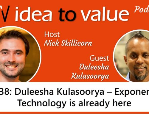 Podcast S2E38: Duleesha Kulasoorya – Exponential Technology is already here