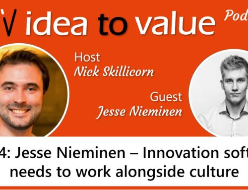 Podcast S3E44: Jesse Nieminen – Innovation software needs to work alongside culture