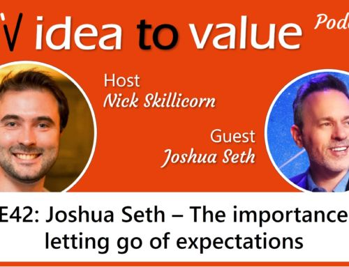 Podcast S3E43: Joshua Seth – The importance of letting go of expectations