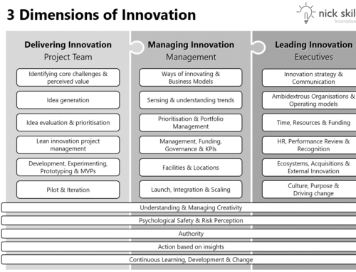 3 Dimensions of Innovation: the 23 Capabilities your company needs to succeed