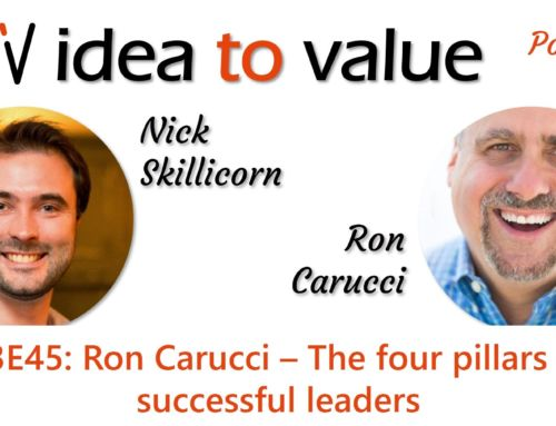 Podcast S3E45: Ron Carucci – The four pillars of successful leaders