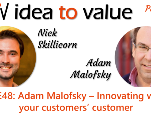 Podcast S3E48: Adam Malofsky – Innovating with your customers' customer