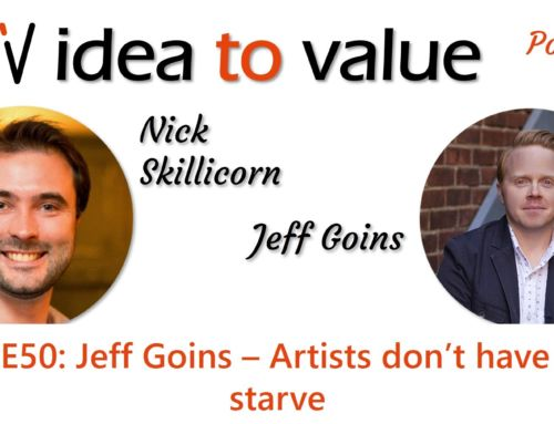 Podcast S3E50: Jeff Goins – Artists don't have to starve