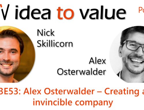 Podcast S3E53: Alex Osterwalder – Creating an invincible company