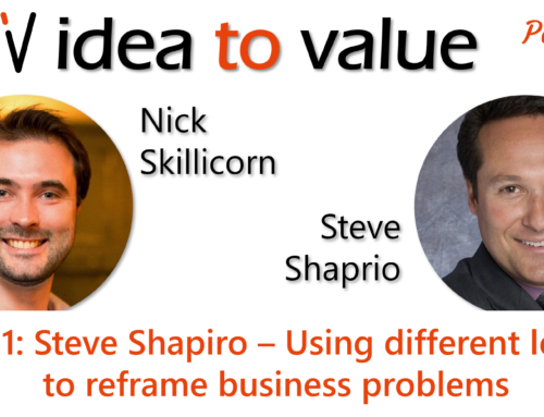 Podcast S3E51: Stephen Shapiro – Using different lenses to reframe business problems