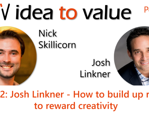 Podcast S3E52: Josh Linkner – How to build up rituals to reward creativity