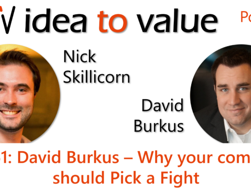 Podcast S3E61: David Burkus – Why your company should Pick a Fight