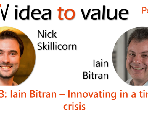 Podcast S3E63: Iain Bitran – Innovating in a time of crisis