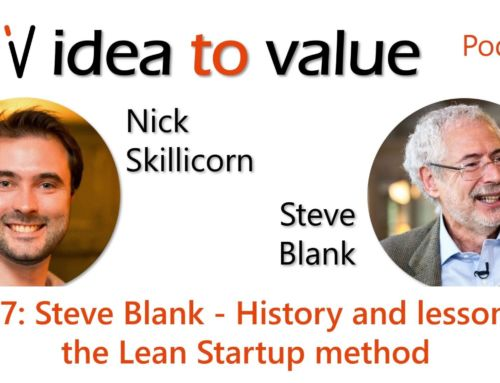 Podcast S3E67: Steve Blank – History and lessons of the Lean Startup method