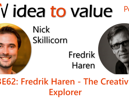 Podcast S3E62: Fredrik Haren – The Creativity Explorer