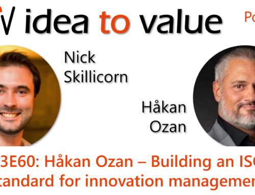 Podcast S3E60: Håkan Ozan – Building an ISO standard for innovation management