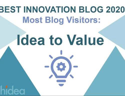 Idea to Value awarded as the Innovation blog with the most traffic for 2020!