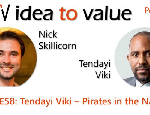 Podcast S3E58: Tendayi Viki – Pirates in the Navy