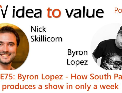Podcast S4E75: Byron Lopez – How South Park produces a show in only a week