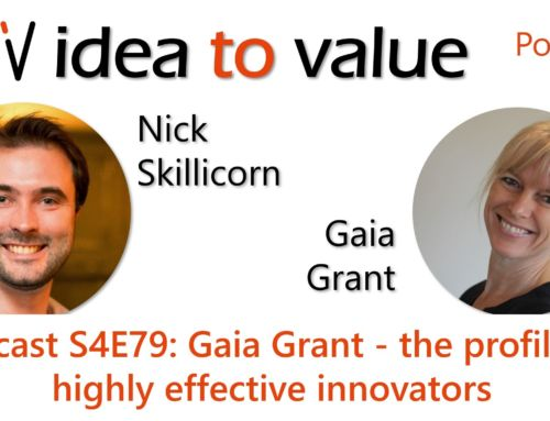 Podcast S4E79: Gaia Grant – the profile of highly effective innovators