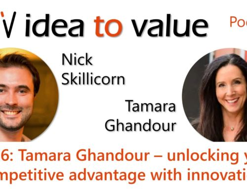 Podcast S4E76: Tamara Ghandour – unlocking your competitive advantage with innovation