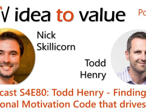 Podcast S4E80: Todd Henry – Finding the personal Motivation Code that drives you