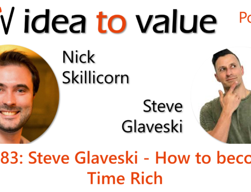 Podcast S4E83: Steve Glaveski – How to become Time Rich