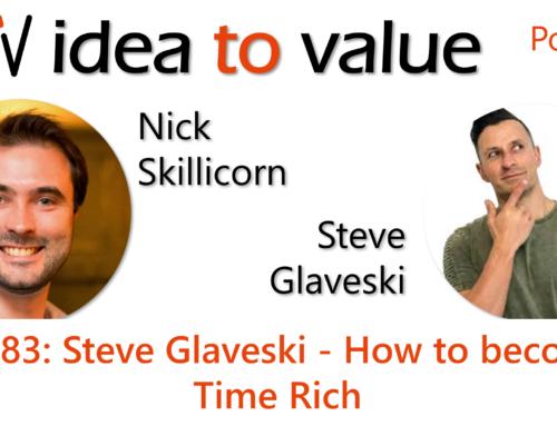 Podcast S4E83: Steve Glaveski – How to become Time Rich