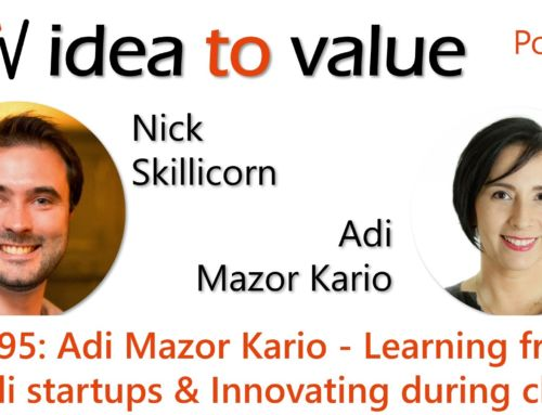 Podcast S4E95: Adi Mazor Kario – Learning from Israeli startups and Innovating during chaos