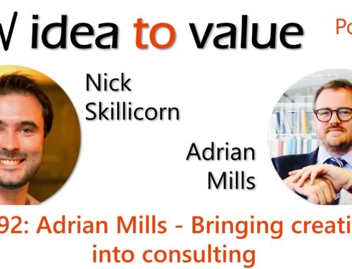 Podcast S4E92: Adrian Mills – Bringing creativity into consulting
