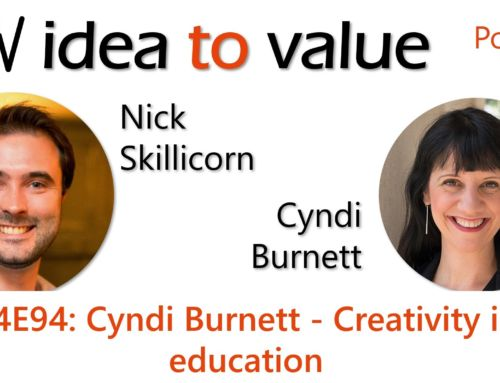 Podcast S4E94: Cyndi Burnett – Creativity in education