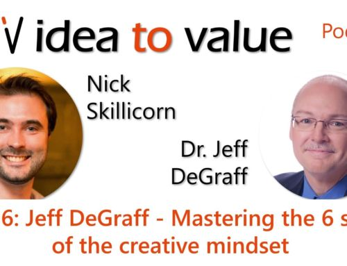 Podcast S4E96: Jeff DeGraff – Mastering the 6 skills of the creative mindset