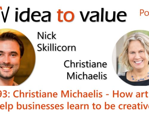 Podcast S4E93: Christiane Michaelis – How art can help businesses learn to be creative