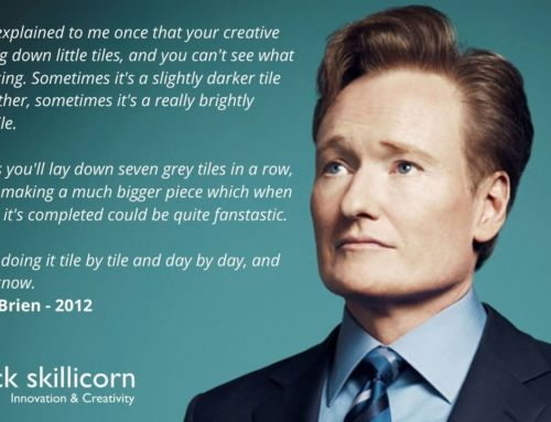 Conan O'Brien quote on doing great creative work
