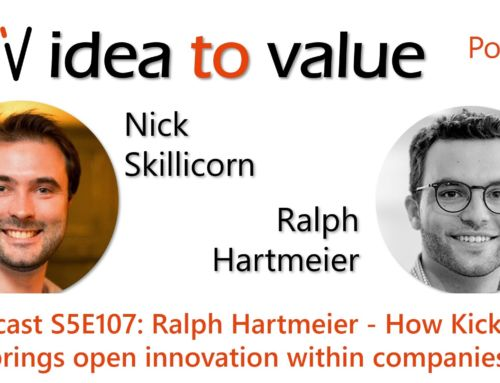 Podcast S5E107: Ralph Hartmeier – How Kickbox brings open innovation within companies