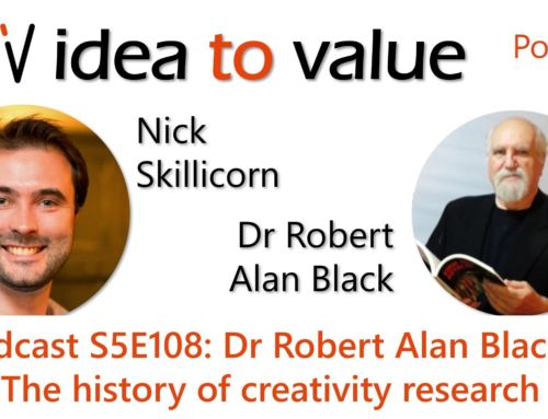 Podcast S5E108: Dr Robert Alan Black – The history of creativity research