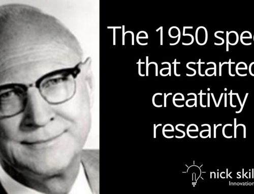 The 1950 speech that started creativity research